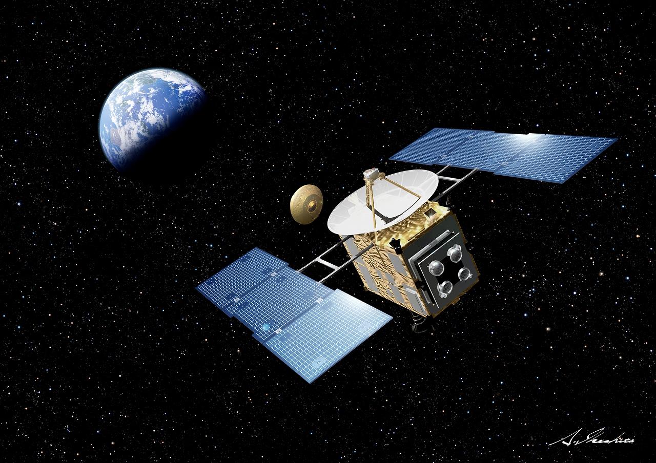小惑星探査機『はやぶさ』 本当に凄い「空と宇宙展」!世界初小惑星探査機「はやぶさ」、世界初小型ソ